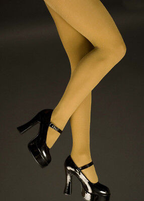 Womens Plus Size Gold Glitter Tights (Glitter Tights Plus Size)