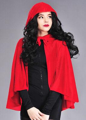 Adult Velvet Red Riding Hood Cape](Adult Velvet Red Riding Hood Cape)