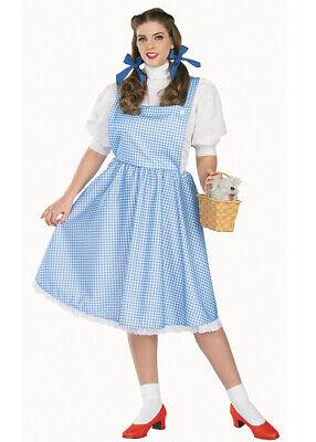 Damen Plus Größe Dorothy (Übergröße Dorothy Kostüm)