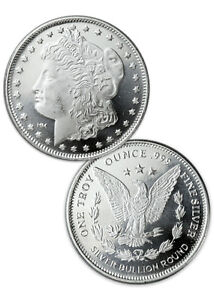 Morgan-Dollar-Design-1-Troy-Oz-999-Fine-Silver-Rounds-SKU31046
