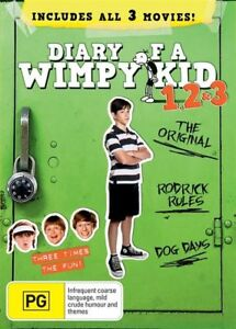 Diary Of A Wimpy Kid (DVD, 2013, 3-Disc Set)