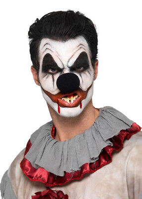 Halloween Scary Killer Clown Make-Up Kit with Teeth