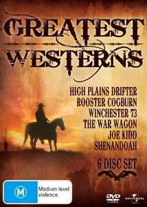 The Greatest Westerns Collection (High Plains Drifter, Rooster Cogburn) DVD R4