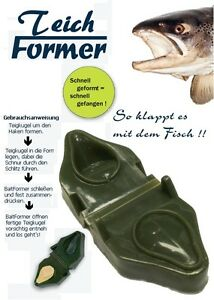 ORIGINAL TEICHFORMER Troutbait Teig Former Forellen Teigformer Baitformer Gulp