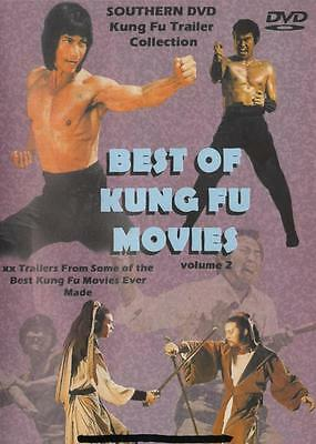 BEST OF KUNG FU TRAILERS VOL 2 DVD Martial Arts Shaolin 22 Previews Bruce (Bruce Lee Best Of)