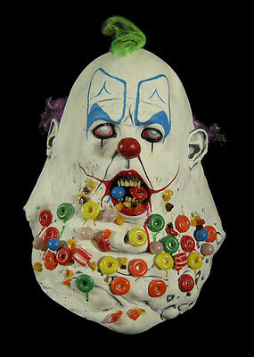 Candy Crusher Scary Clown Halloween Mask Not Don Post Not Freddy - Post Halloween Candy