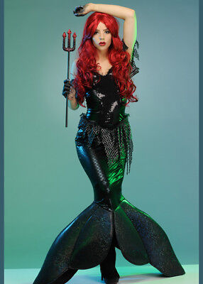 Womens Gothic Ariel Dark Little Mermaid Costume](Dark Mermaid Costume)