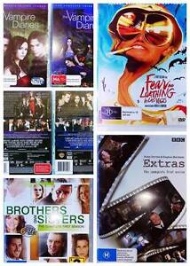 5 Assorted DVDs CD Vampire Diaries and MORE TV SERIES MOVIE Ardross Melville Area Preview