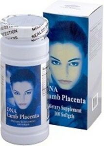 DNA Lamb Placenta, with Collagen,  Vitamin A,C,E. 100caps/bottle
