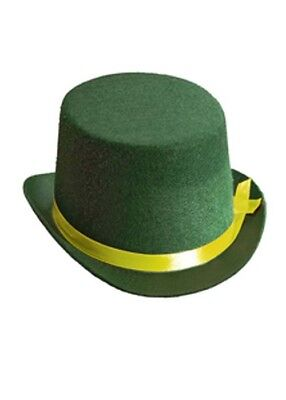 Child Size Top Hat (Kids Size Circus Clown Green Top)