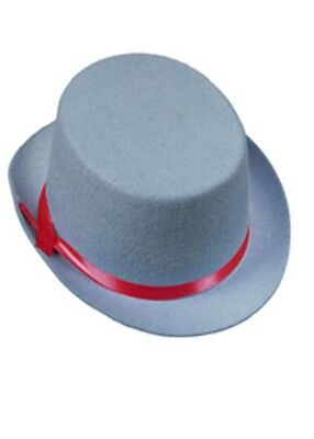 Child Size Top Hat (Kids Size Circus Clown Blue Top)