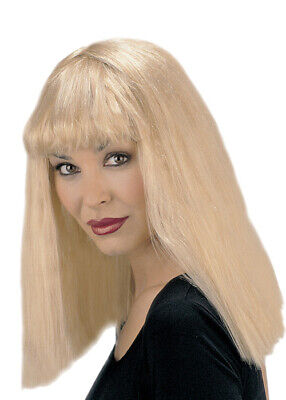 Kill Bill Wig (Womens Kill Bill Style Blonde Fringe)