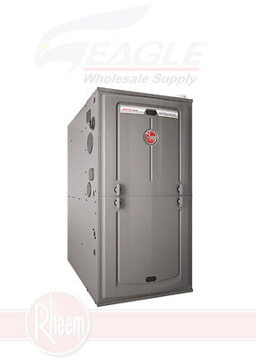 2 Stage Variable Speed Furnace (Rheem R96VA1002521MSA 98,000 BTU 96%  2-Stage Furnace, Multi-Pos, Variable Speed )