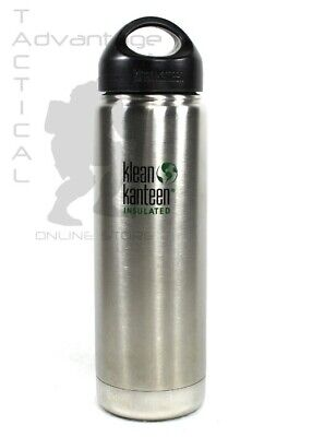 21135ba800 Klean Kanteen Insulated 20 ounce Wide Mouth Stainless Steel Water Bottle