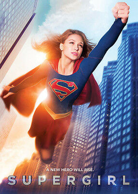 SUPERGIRL TV Show Promo Card