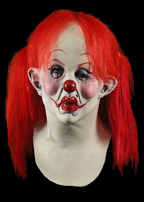 Bad Attitude Scary Female Clown Halloween Mask
