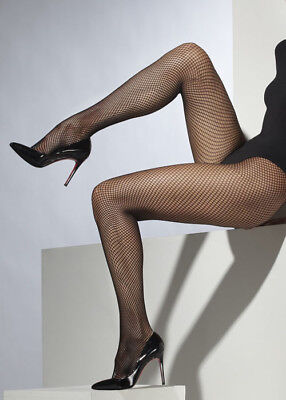 Plus Size Gothic Black Fishnet Tights (Mardi Gras Costumes Plus Size)