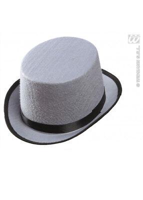 Child Size Top Hat (Childrens Size Grey Felt Top)