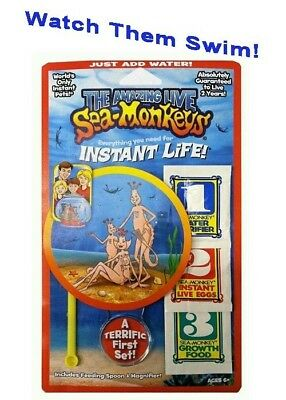 Amazing Live Sea Monkeys Original Instant Life Monkey