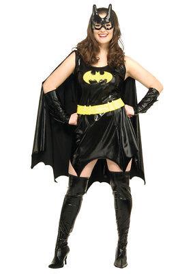 Womens Plus Size Batgirl Costume