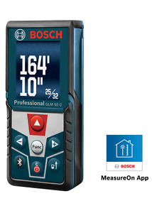 Bosch GLM 50 C Bluetooth Enabled Laser Distance Measurer