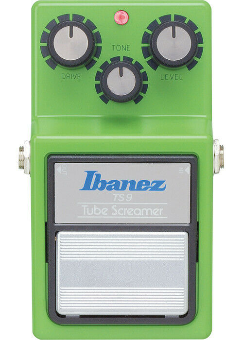 Ibanez TS9 Tube Screamer Classic Guitar Effects Pedal Green