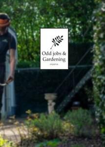 Gardening and odd jobs