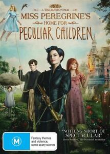 AS NEW - Miss Peregrines Home For Peculiar Children (DVD, 2017) - FREE POSTAGE