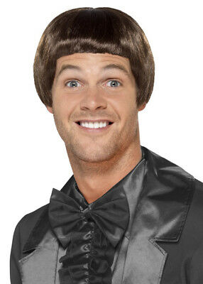 Mens Brown Dumb and Dumber Style Wig