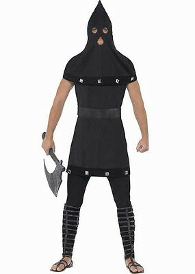 Smiffy's Dungeon Master Executioner Gothic Adult Costume Black Tunic and Hood](Executioners Hood)