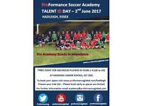 Football Talent ID Day - U6 to U9