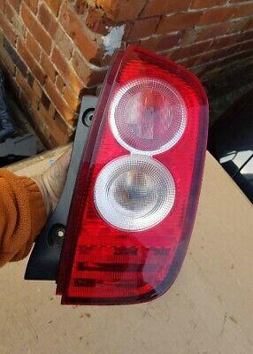 NISSAN MICRA K12 REAR LIGHT BACK LAMP 2003-2010 NEARSIDE PASSENGERS SIDE LEFT