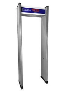 Single Zone Security Airport Walk Through Metal Detector New Free Shipping