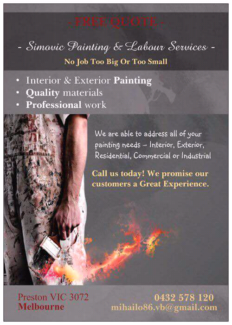 Simovic Painting & Labour Services
