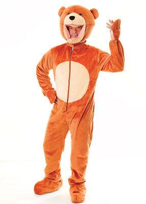 Adult Size Teddy Bear Costume - Teddy Bear Costume Men