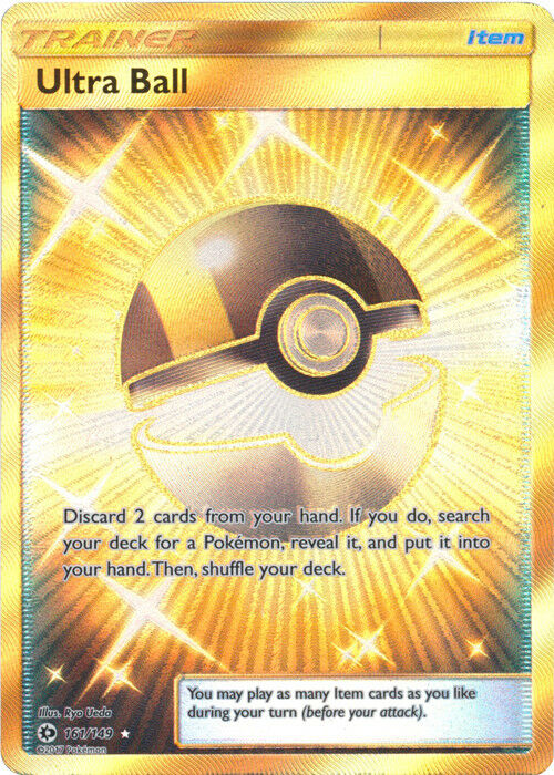 POKEMON HIDDEN FATES METAGROSS ULTRA BALL EMPTY STORAGE TCG CONTAINER FOR CARDS