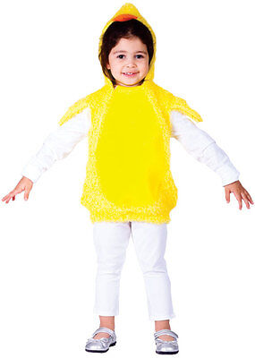 KIDS TODDLER BABY CHICK CHICKEN BIRD FARM ANIMAL EASTER COSTUME OUTFIT AGE 2-4-6 - Kids Chicken Outfit