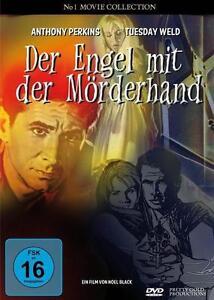 """DVD """"DER ENGEL MIT DER MÖRDERHAND"""" Anthony Perkins, Tuesday Weld ****OVP****"""