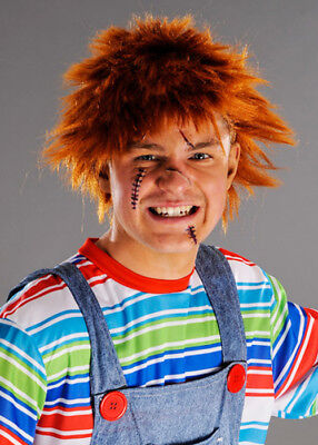 Mens Ginger Wig (Mens Chucky Style Messy Ginger)