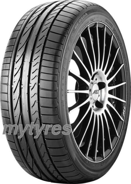4x SUMMER TYRES Bridgestone Potenza RE 050 A 255/35 R19 96Y XL with MFS BSW