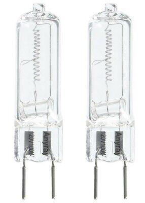 120v 100w Lamp - 2-Bulbs G8 130V 100W 100Watt T4 GY8.6 100-Watt Halogen Light Bulb110V 120V lamps