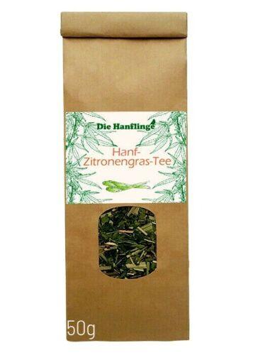 *Bio-Hanf-Zitronengras-Tee 50 g THC-frei*