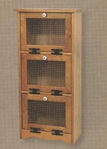 Amish-Vegetable-Bin-Bread-Box-Potato-Onion-Storage-Solid-Wood-Cupboard-Cabinet