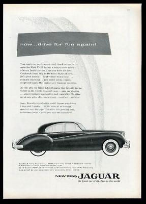 1955 Jaguar Mark VII-M Family Sports Sedan car vintage print ad