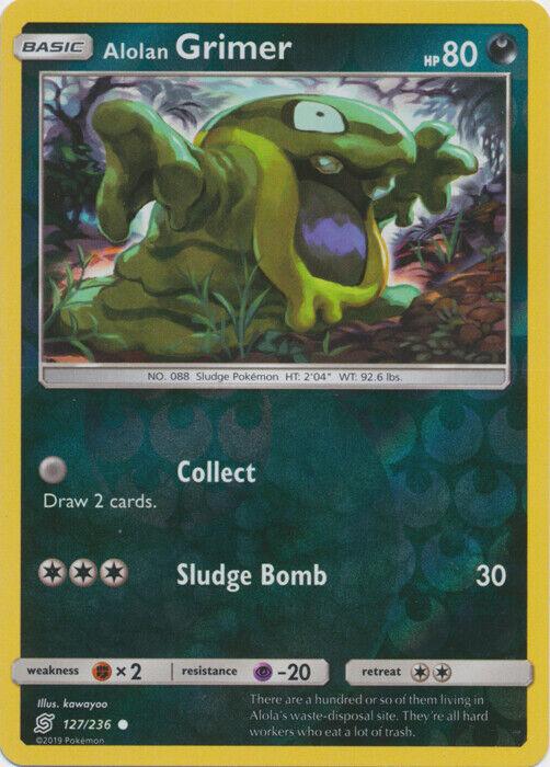 4x 4 x Grimer 62//181 x4 Pokemon TCG Card Non-Holo Team Up Near Mint