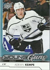 2017-18 Upper Deck Young Guns Adrian Kempe Los Angeles Kings