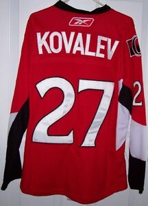 NHL Ottawa Senators Alex Kovalev Jersey