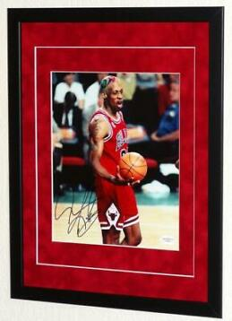 Chicago Bulls - NBA Basketbal - Dennis Rodman - Foto