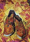 Vik Muniz - Shoes, after Van Gogh (Pictures of Flowers)