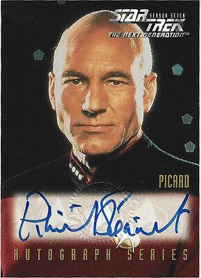 TC Star Trek Next Generation Patrick Stewart A1 Autograph Series